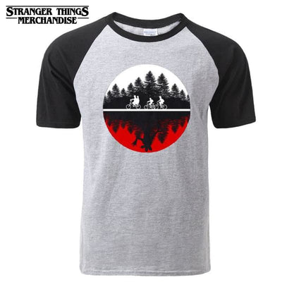Stranger Things Red and White T-shirt