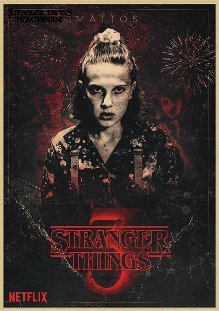 Stranger Things Season 3 Poster <br> S3