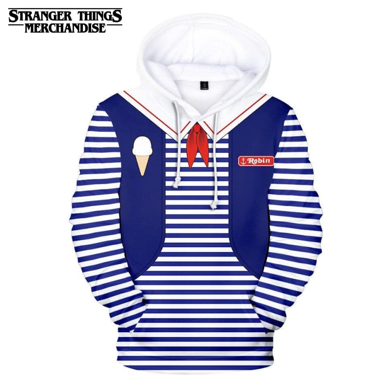Stranger Things Scoops Ahoy hoodie