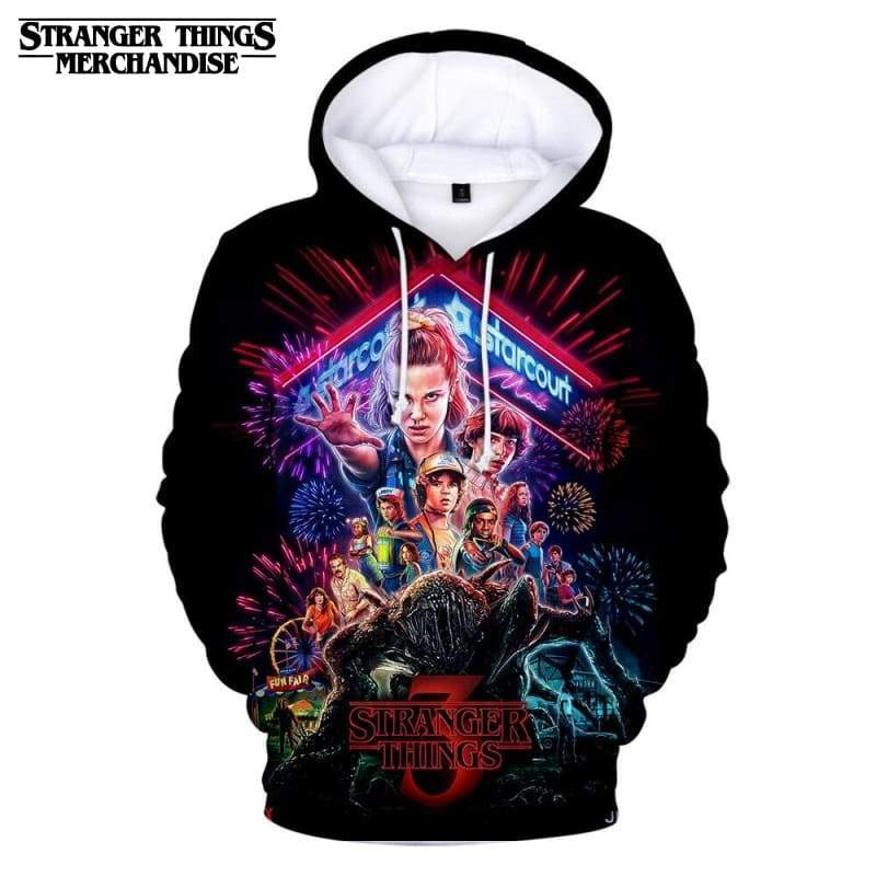 Stranger Things Season 3 Hoodie