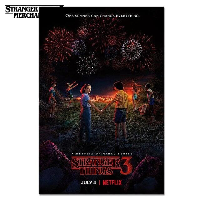 Stranger Things Season 3 Poster <br> Movie