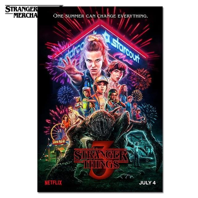 Stranger Things Season 3 Poster <br> Official