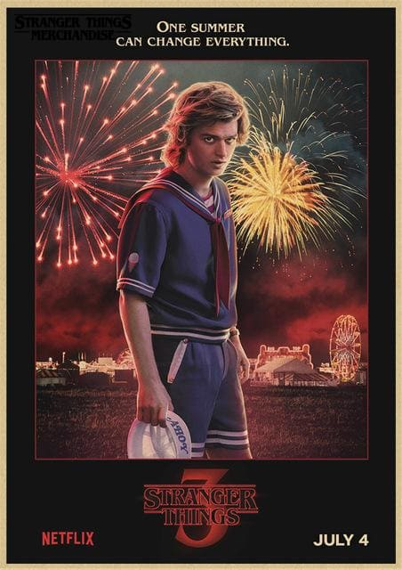 Stranger Things Season 3 Poster <br> Steve
