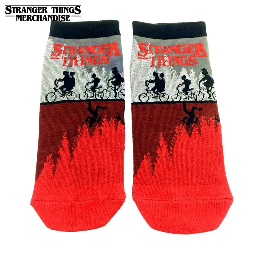 Stranger things slipper socks