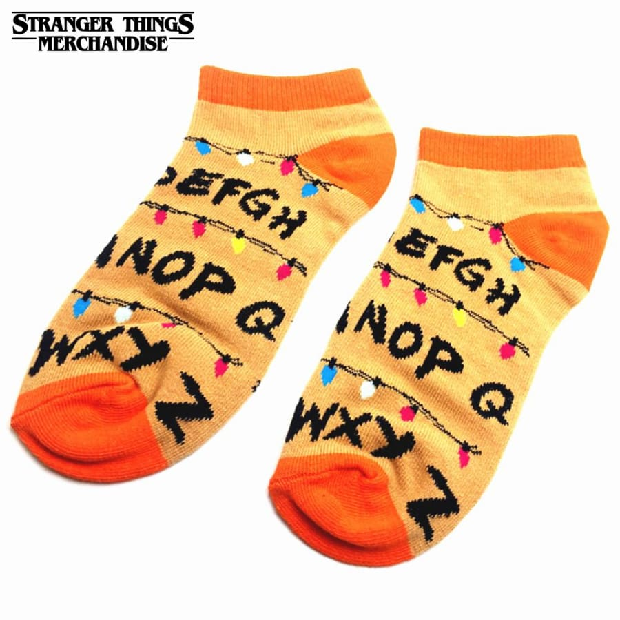 stranger things socks lights