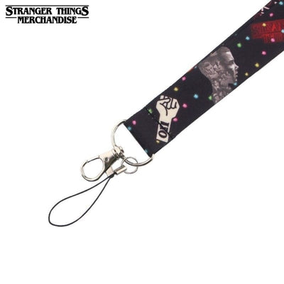 Stranger Things strap keychain