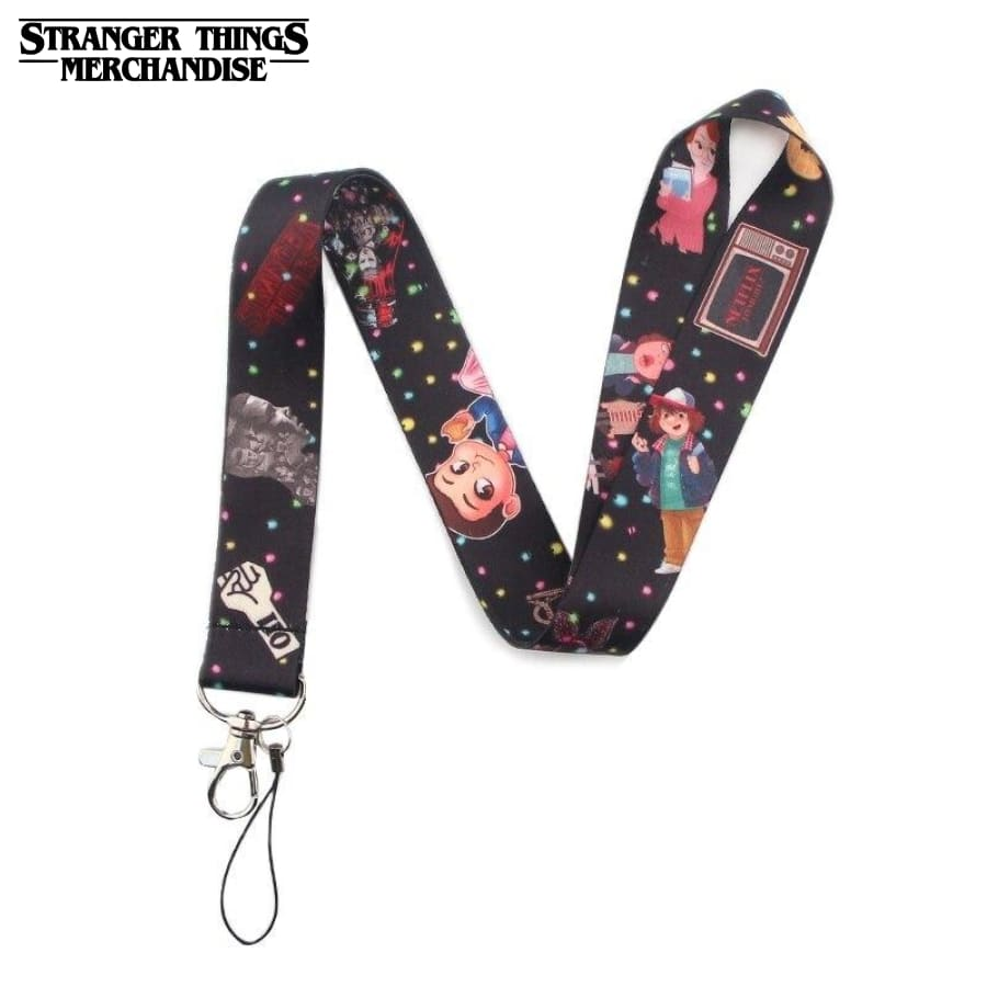 Stranger Things Keychain <br>Strap