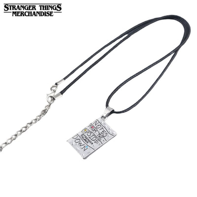 Stranger things Upside Down necklace