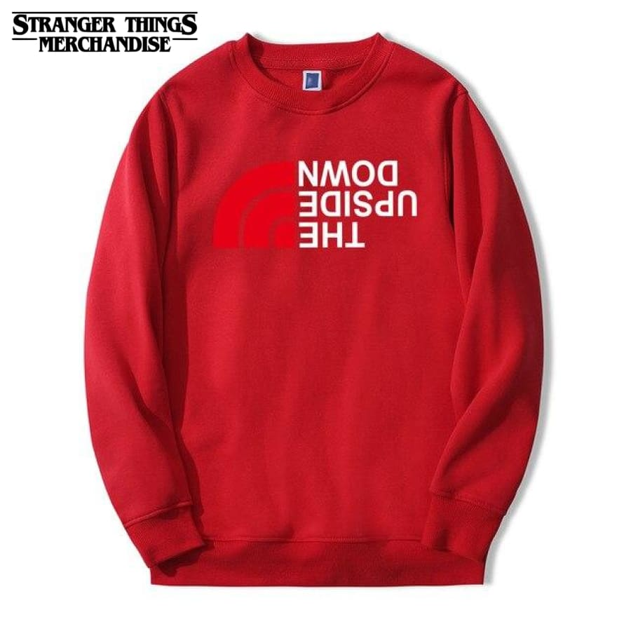 BlackSweatshirt Stranger Thing Upside Down Sweat /à Capuche