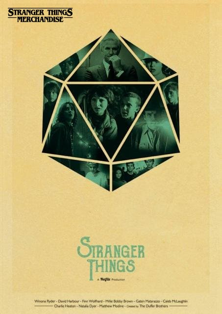 Stranger Things Poster <br> Wall Poster
