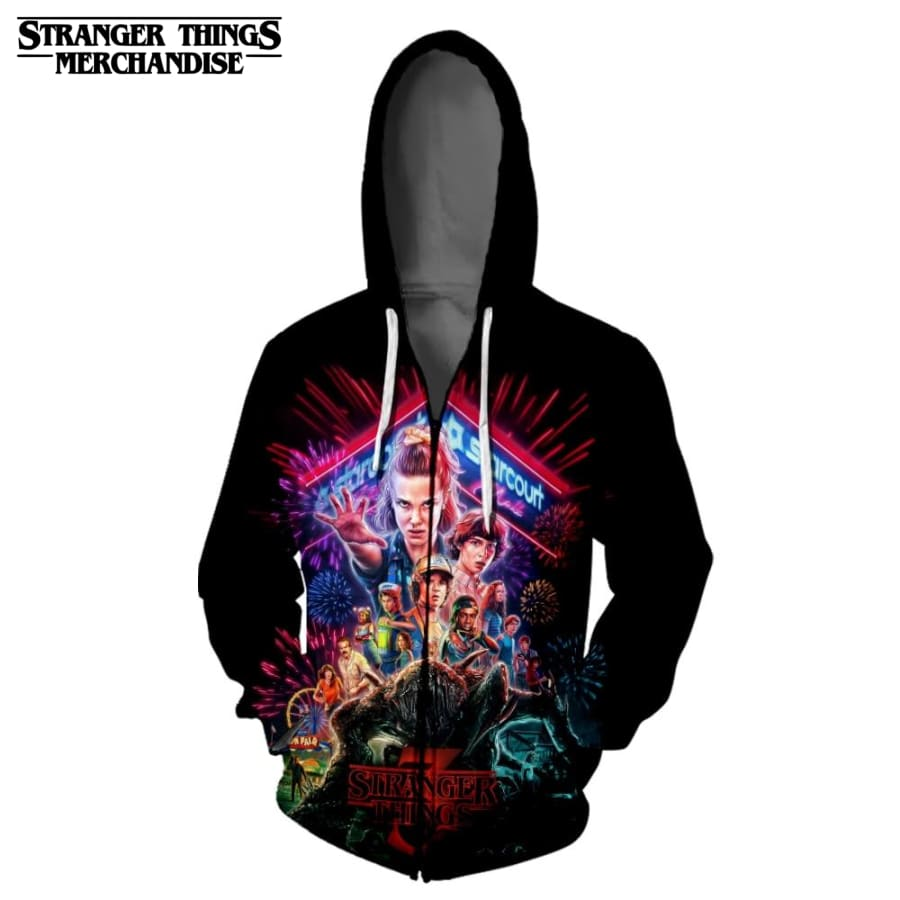 Stranger Things Jacket <br> Zip Up