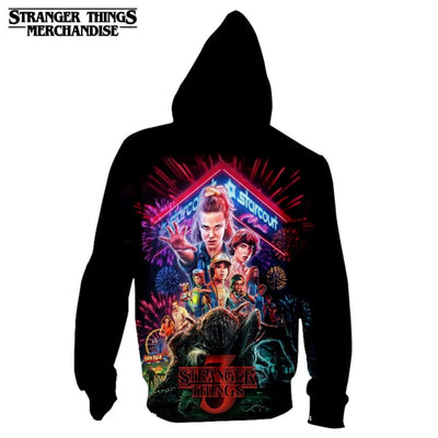 Stranger Things Zip Up Jacket