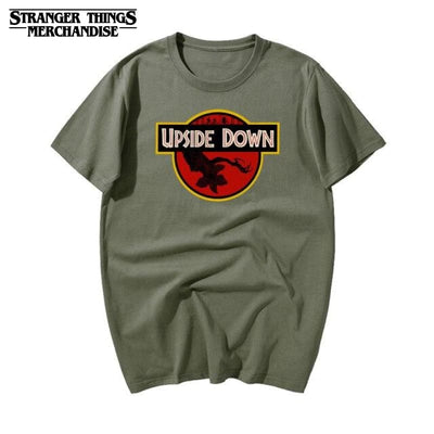 T-Shirt Stranger Things Upside Down