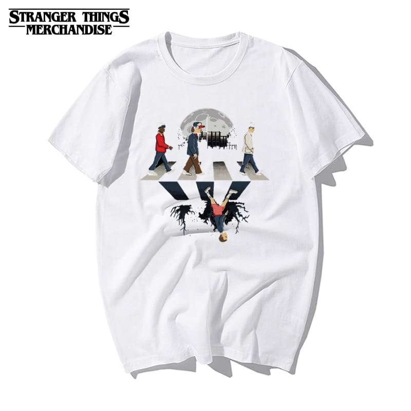 Stranger Things Shirt <br> The Beatles Abbey Road