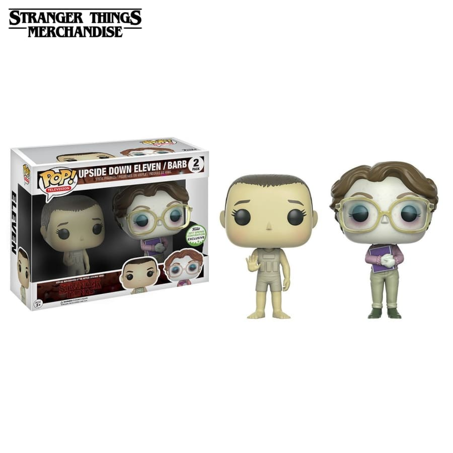Upside down eleven barb funko pop