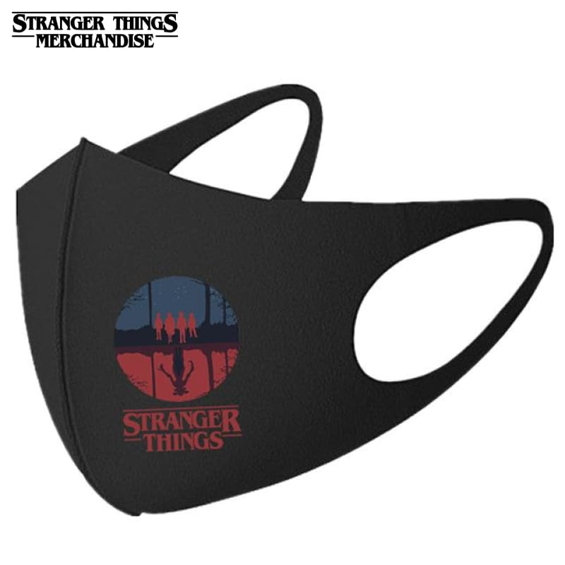 Stranger Things Face Mask <br>Upside Down