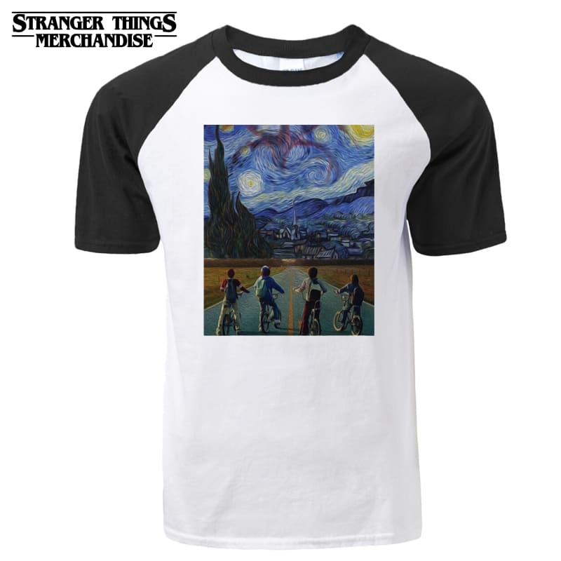 Stranger Things Shirt <br> Vincent Van Gogh