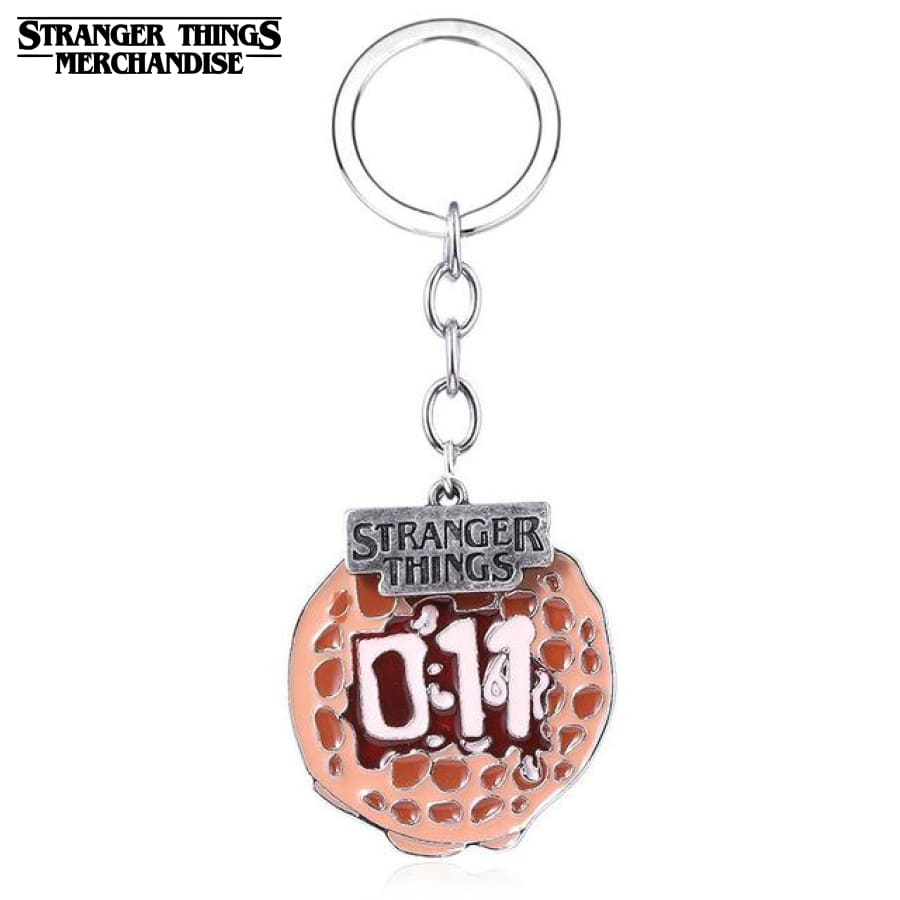 Stranger Things Keychain <br>Waffle 011