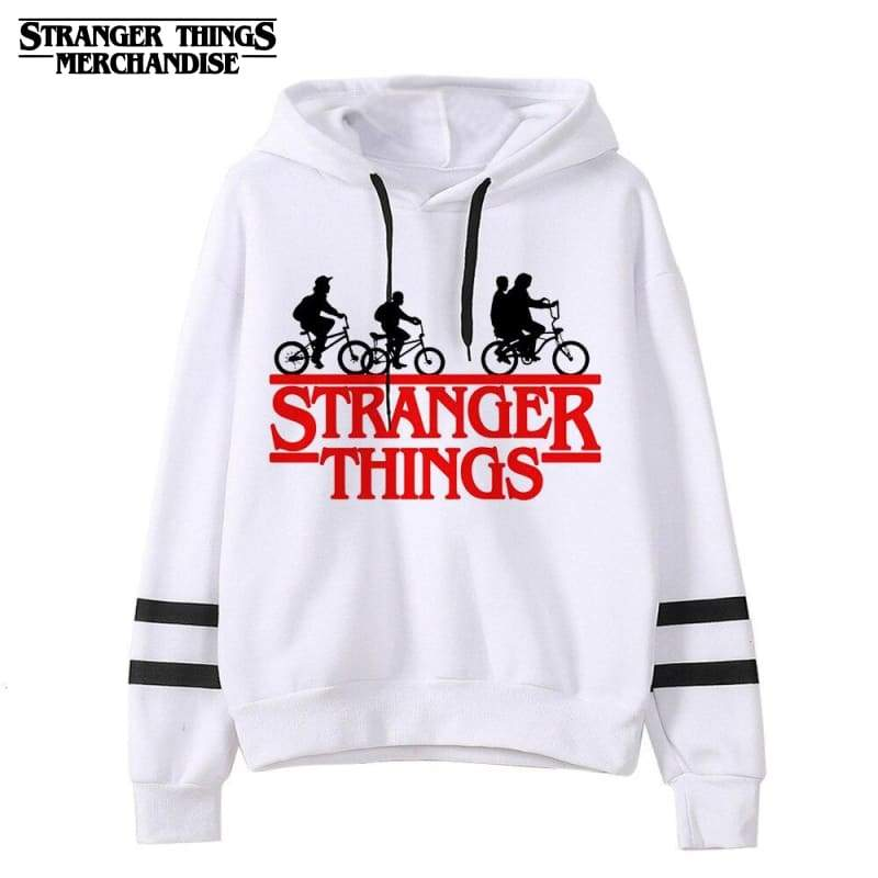 Stranger Things Hoodie <br> Black Sleeves