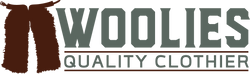 Woolies Quality Clothier logo