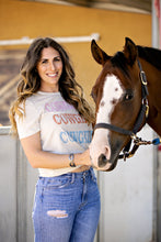 Load image into Gallery viewer, Cowgirl Cowgirl Cowgirl Tee