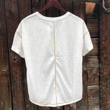 Load image into Gallery viewer, Grandby Button Front Tee