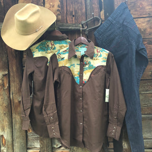San Saba Rodeo Shirt by Tasha Polizzi