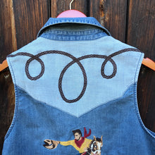 Load image into Gallery viewer, Cowboy Vest by Tasha Polizzi