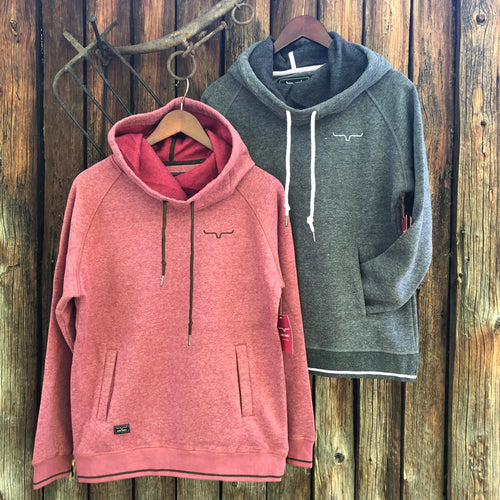 Scooper Hoodie Red Heather