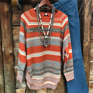 Muskogee Side Slit Sweater