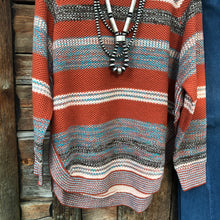 Load image into Gallery viewer, Muskogee Side Slit Sweater