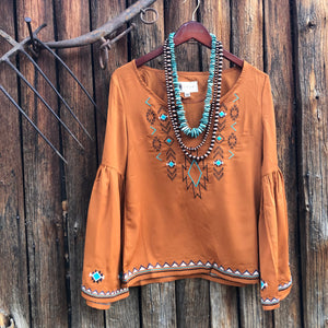 Tess Embroidered Blouse