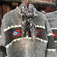 Load image into Gallery viewer, Navajo Knit Sweater Jacket {Men's}