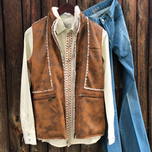 Load image into Gallery viewer, Route 66 Vest {Camel}