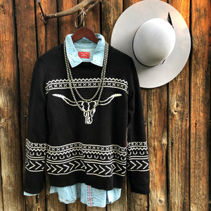 Butte Steer Sweater