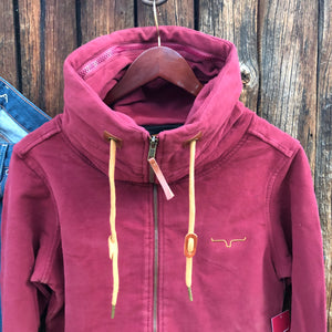 Augier Full Zip Jacket {Wine}
