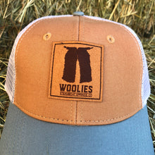 Load image into Gallery viewer, Woolies Tan & Gray Cap