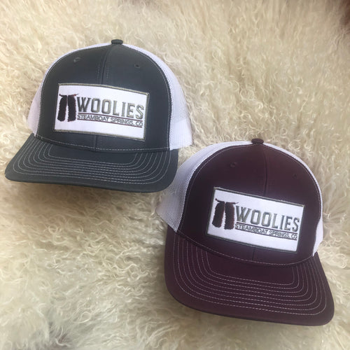 Woolies Patch Hats