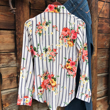 Load image into Gallery viewer, Pecos Pinstripe Floral