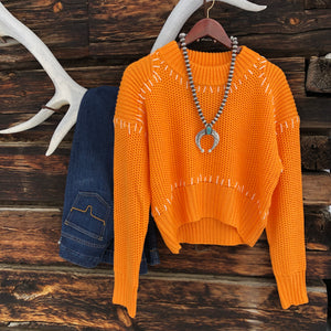 Durango Whipstitched Sweater