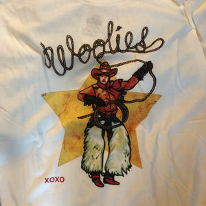 Woolies Western T-Shirt {White}