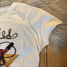 Load image into Gallery viewer, Woolies Western T-Shirt {White}