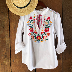 Banderas Embroidered Blouse