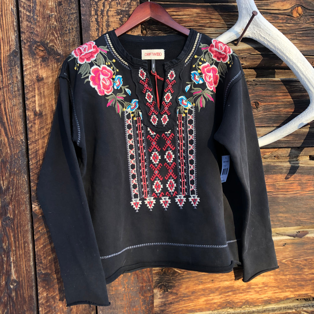 Bali Embroidered Sweatershirt