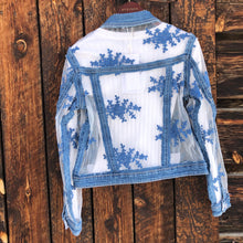Load image into Gallery viewer, Malibu Denim Lace Jacket