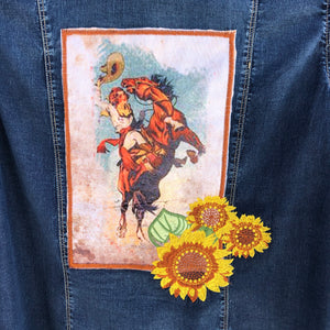 Tahoe Denim Patch Top