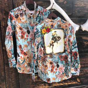 Hays Floral Patch Top