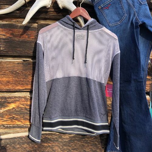 Somer's Dream Mesh Hoodie by Kimes Ranch