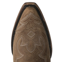 Load image into Gallery viewer, Lane Saratoga Bootie in Burnt Caramel - Rural Haze