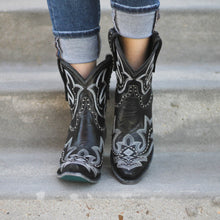 Load image into Gallery viewer, Lane Saratoga Studded Bootie in Black - Rural Haze